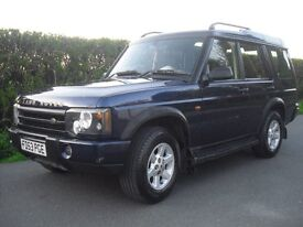 land rover discocery TD5 diesel 2004 automatic seven set leather sits new mot