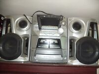 Panasonic CD stereo system SA-AK44 (COLLECTION ONLY)