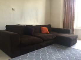 SOLD John Lewis large corner sofa