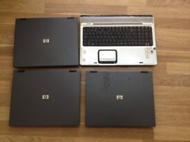 4 Laptops Joblot, (Sold as Spares and Repairs)