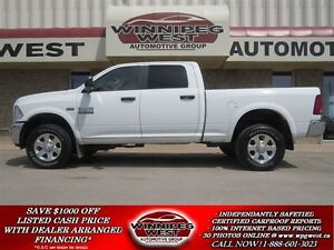 2015 Dodge Ram 2500 OUTDOORSMAN CREW 4X4, HEMI V8, HEAVY DUTY GV