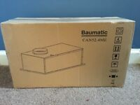 New in box Baumatic CAN52.4ME built in cooker hood Grey