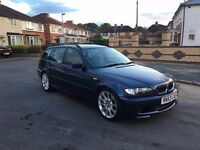 BMW 330D M SPORT, FULL LEATHERS. IMMACULATE CAR. FULL SERVICE BOOK. m3, 330ci, golf, vw, 335