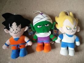 DRAGONBALL Z Plush Toys (toy collection/job lot)