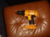 DEWALT 18 volt cordless drill