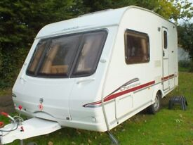 2 BERTH SWIFT CHARISMA 220 CARAVAN 2006+PORCH AWNING+EXTRAS