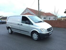 MERCEDES VITO 109 CDI COMPACT, 2009 (09) REG, 1 FORMER KEEPER, TESTED, SILVER MET, AIR CON, NO VAT!!