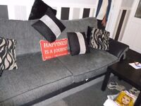 sofa large three seater dfs great con under 1 year old