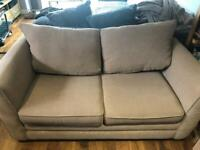 Double Sofa Bed - FREE