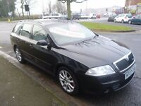 Skoda OCTAVIA VRS TDI,clean tidy very sporty estate,1 previous owner,2 keys,runs and drives well