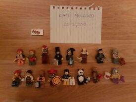 Lego Movie Minifigures Full Set