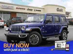 2019 Jeep Wrangler Unlimited SAHARA 4X4 | LEATHER NAV UCONNECT