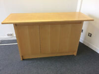 Office Credenza finished in Yew-This was £2500 new!!!