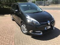 2013 Renault Grand Scenic, 1.5 diesel, 7 seater, low mileage,MOT 10/2018, £3600