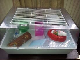 Two hamster cages £15 & £20.