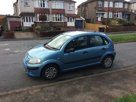 Diesel Citroen C3 57 reg stunning blue , £30 tax a year px options available