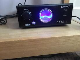 Amp and speakers for sale