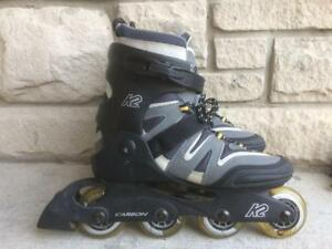 Like NEW K2 Camano Inline Skates (Rollerblades) 78mm/78A Men's 9