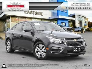 2016 Chevrolet Cruze WHEELS -B. TOOTH-REAR VIEW CAMERA