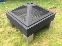 Grilltech Architect Fire Pit and BBQ Grill