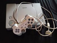Playstation 1 and controller