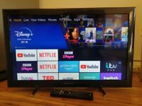 "26"" Sony Bravia LED TV - delivery possible."