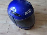 motorbike helmet - crash helmet - size small