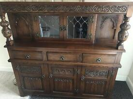 Old Charm Wall Unit Dresser