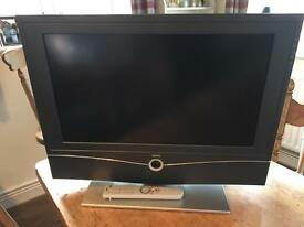 "Loewe 26"" HD Ready LCD TV with Built-In DVB FREEVIEW Tuner."
