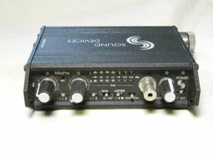 Audio field mixer preamp Sound Devices MixPre with field case