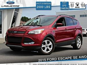 2015 Ford Escape SE**AWD*TOIT*GPS*CAMERA*BLUETOOTH*A/C**