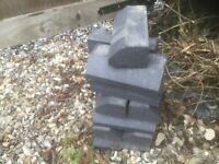 Bricks, Blue stretcher / plinth bricks