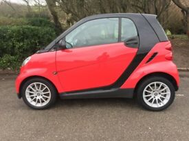 SMART CAR AUTOMATIC PANORAMIC ROOF FULL SERVICE HISTORY BY MERCEDES/SMART DEALERSHIPS