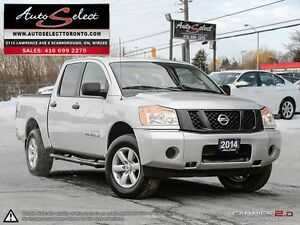 2014 Nissan Titan 4x4 ONLY 82K! **CLEAN CARPROOF** SV MODEL