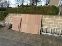 Marine plywood offcuts (various sizes)