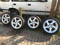 Genuine Porsche wheels