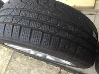 Alloys wheel with new tyres for BMW X1
