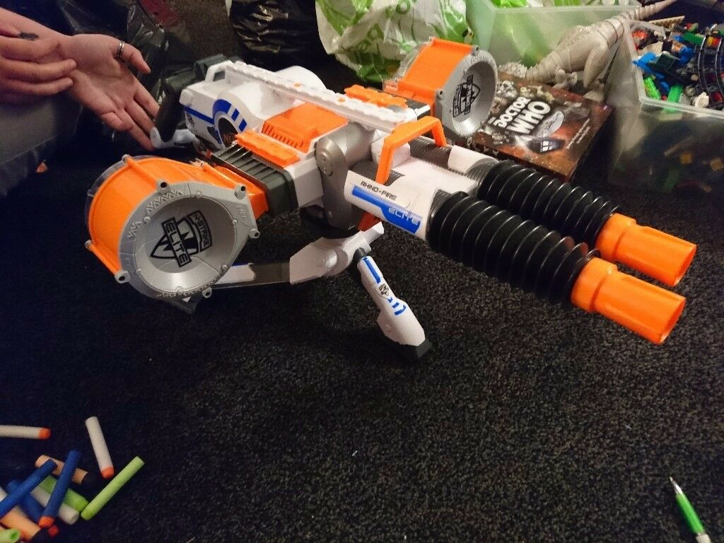 Assorted Nerf guns perfect for any Nerf battle