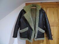 Genuine Vintage Sheepskin Flying Jacket