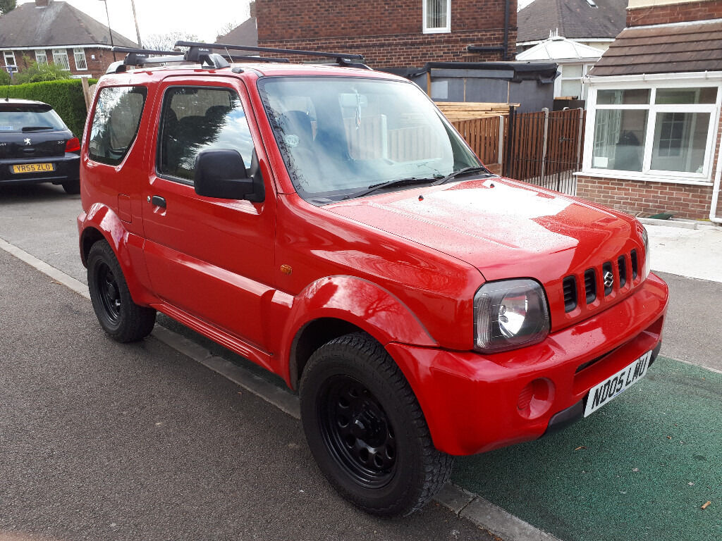 4x4 05 reg suzuki jimny 1 3 jlx 3 door 4wd full mot low miles in sheffield south. Black Bedroom Furniture Sets. Home Design Ideas