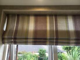 Laura Ashley curtains and roller blind