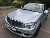 Mercedes C220 CDI 2.1 Auto SE 2008 Diesel Full Service History AMG Alloys Excellent Condition