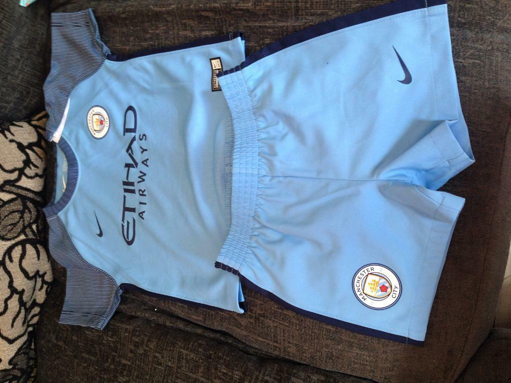 new product 92d32 61cae Man City toddler kit   in Exmouth, Devon   Gumtree
