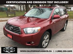 2009 Toyota Highlander 7PASS LEATHER SUNROOF - 4X4