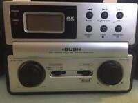 Radio and CD player Bush
