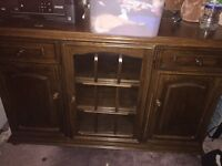 Antique heavy old unit . Couple of marks . But beautiful and could be done shabby chic