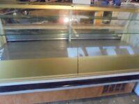 large display fridge for kebab shop or cafe shop , can be seen working can deliver it