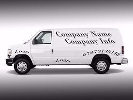 sign writing vinyl lettering for Vehicle/ Van/Car/Shop Windows Decals/Stickers - Free design cost