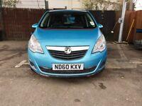 2011 Vauxhall Meriva 1.7 CDTi 16v S 5dr | Low 68000 Miles Only | like zafira sheran galaxy mariva