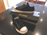 Converse All Star, Ox Glitter Trainers, Size 2 (With Original Box)